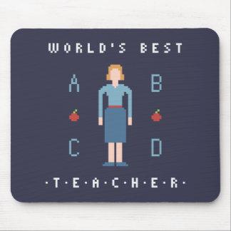 bäst lärare för stil 8Bit Musmatta