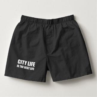 Bäst liv för stadsliv boxers