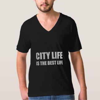 Bäst liv för stadsliv t-shirt
