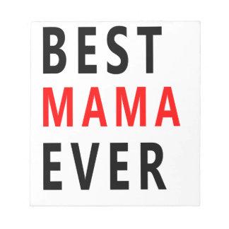 Bäst mammor någonsin (3) anteckningsblock