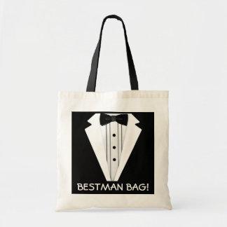 Bäst Man-Bröllop-Smoking Budget Tygkasse
