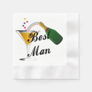 Bäst man för bröllop papper servett