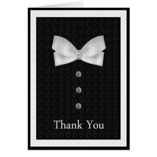 Bäst manbröllop för tack hälsningskort