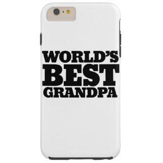Bäst morfar för världar tough iPhone 6 plus fodral