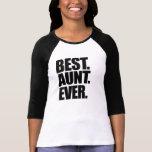 Bäst moster någonsin t-shirts
