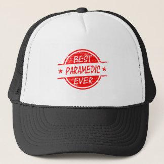 Bäst någonsin röd sjukvårdare truckerkeps