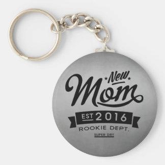 Bäst ny mamma 2016 rund nyckelring