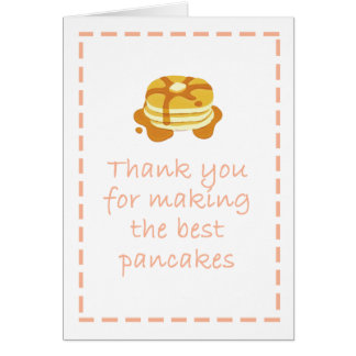 Bäst pannkaka - mors dagkort OBS kort