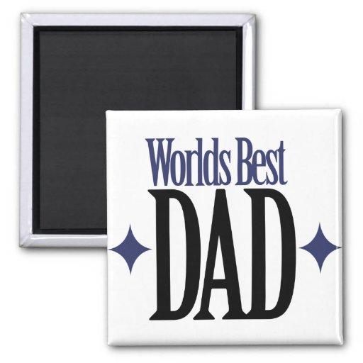 Bäst pappa för världar magneter
