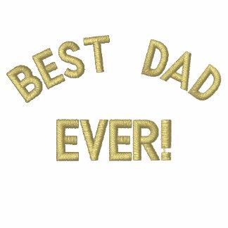 Bäst pappa, någonsin! broderad tröja