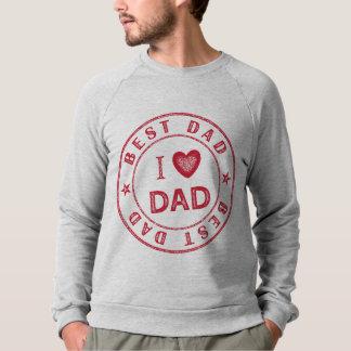 Bäst pappamanar tröja för Raglan för dräkt för