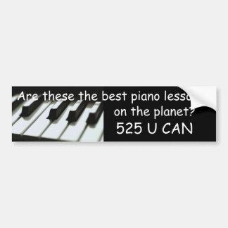Bäst pianokursbildekal bildekal