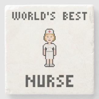 Bäst sjuksköterska för PIXEL Underlägg Sten