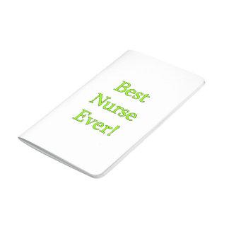 Bäst sjuksköterska någonsin anteckningsbok