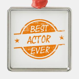 Bäst skådespelare någonsin Orange.png Julgransprydnad Metall