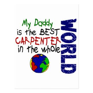 Bäst snickare i värld 2 (pappan) vykort