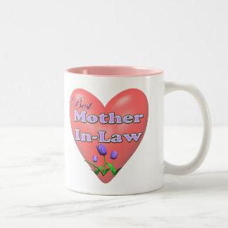 Bäst svärmormors daggåvor Två-Tonad mugg