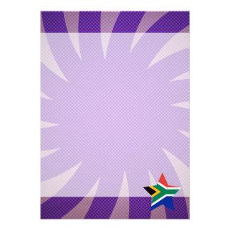 Bäst Sydafrika flaggadesign 12,7 X 17,8 Cm Inbjudningskort