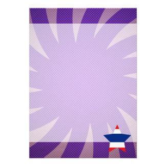Bäst Thailand flaggadesign 12,7 X 17,8 Cm Inbjudningskort