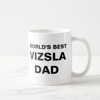 Bäst Vizsla pappavärldar Kaffemugg