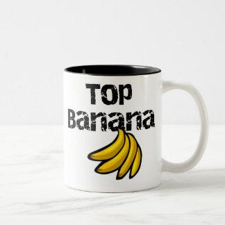 Bästa banan Två-Tonad mugg