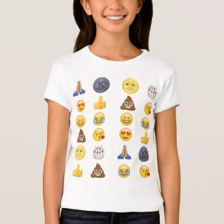 Bästa emojisamling t shirts