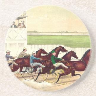 BÄSTA hästkapplöpning är mitt liv Underlägg För Glas