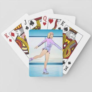 BÄSTA konståkningflicka Spelkort