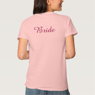 Bästa kvinna shabby chicbröllop - brud tröja