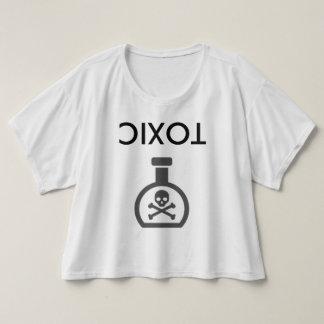 Bästa uppochnervänd giftlig skörd t-shirts