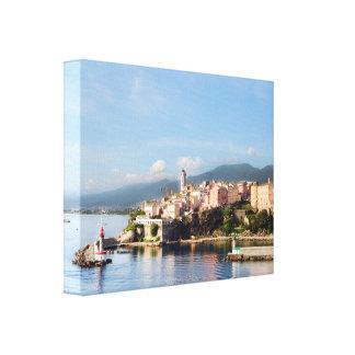 Bastia Corsica slogg in kanfas Canvastryck