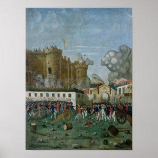 Bastillefängelset, 14th Juli 1789 Poster