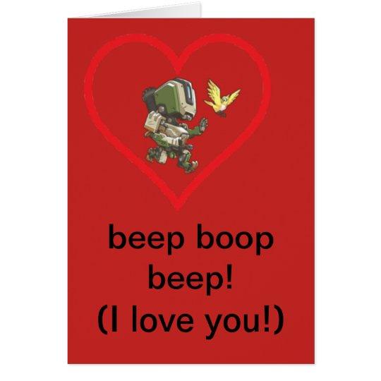 bastion valentinescard hälsningskort