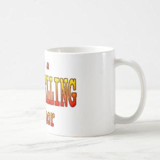 Bästsäljar- författarekaffemugg kaffemugg
