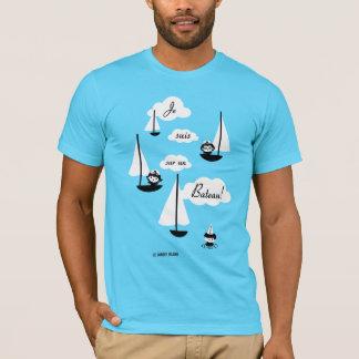 Bateau för un för Je suissur! Tee Shirt