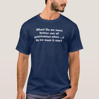 Bättre interpunktion t-shirt