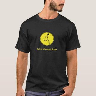 Bättre starkare, snabbare (gult) t shirt