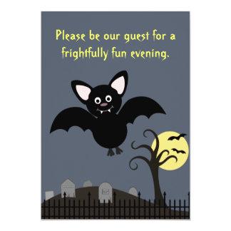 Batty Halloween inbjudan