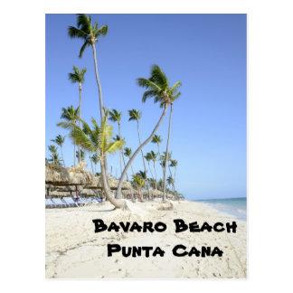 Bavaro strand på ön av Punta Cana Vykort