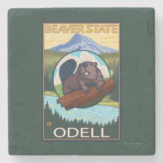 Bäver & Mt.-huva - Odell, Oregon Underlägg Sten
