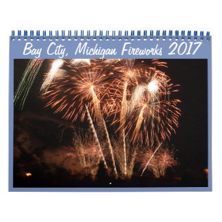 Bay City kalender 2017) 2018 för Michigan