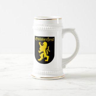 Bayersk lejon öl Stein för oktoberfest Sejdel