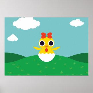 Bayla chicken poster