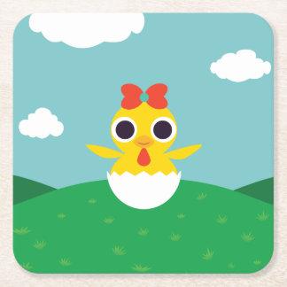 Bayla chicken underlägg papper kvadrat