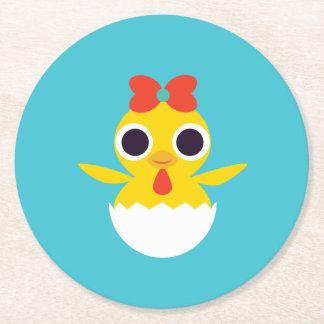 Bayla chicken underlägg papper rund