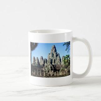 Bayon tempel i Angkor, Cambodja Kaffemugg