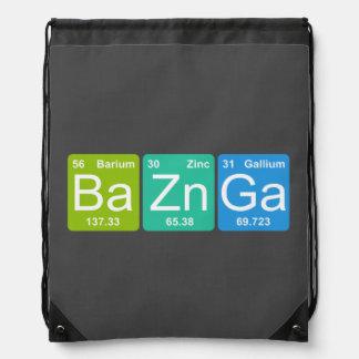 BaZn Ga! Den periodiska bordinslagdrawstringen Gympapåse