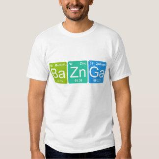BaZn Ga! Periodisk bordinslagT-tröja T-shirt