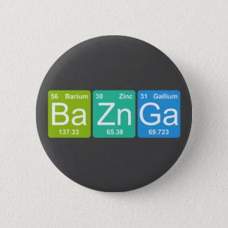 BaZn Ga! Periodiska bordinslag knäppas Standard Knapp Rund 5.7 Cm
