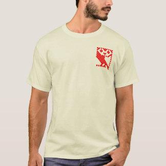 Bbc-mikrouggla - litet rött tee shirt